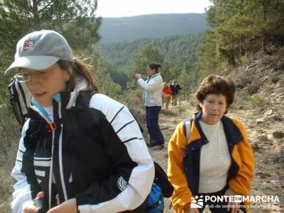 Caminando en las majadas; clubs de senderismo; rutas senderismo